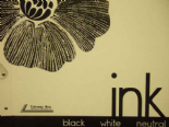 Ink Black White Neutral By Colemans